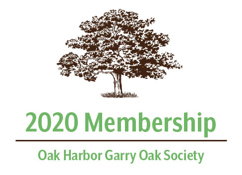 2020 Oak Harbor Garry Oak Society Membership