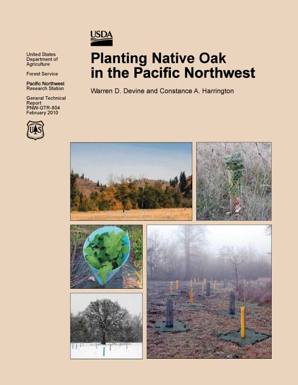 Planting Native Oak in the Pacific Northwest - US Forest Service Guide
