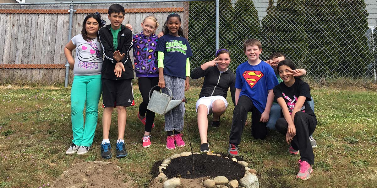 Garry Oak Education with Hillcrest Elementary, Oak Harbor, WA