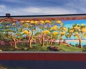 Downtown Oak Harbor, WA Garry Oak Mural