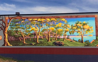Downtown Oak Harbor, WA Garry Oak Mural