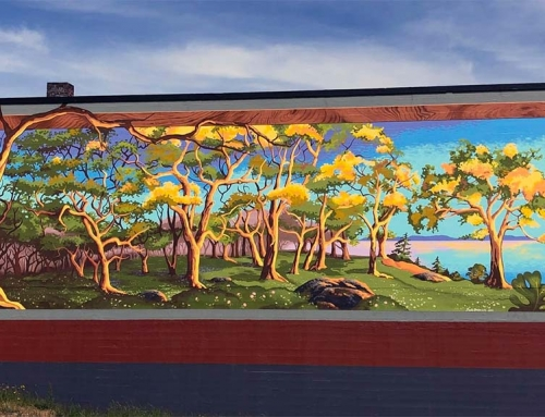 Oaks, a Mural, and Native Plants in our Landscape