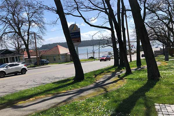 Oak Harbor Bay from Smith Park