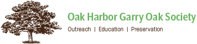 Oak Harbor Garry Oak Society Logo